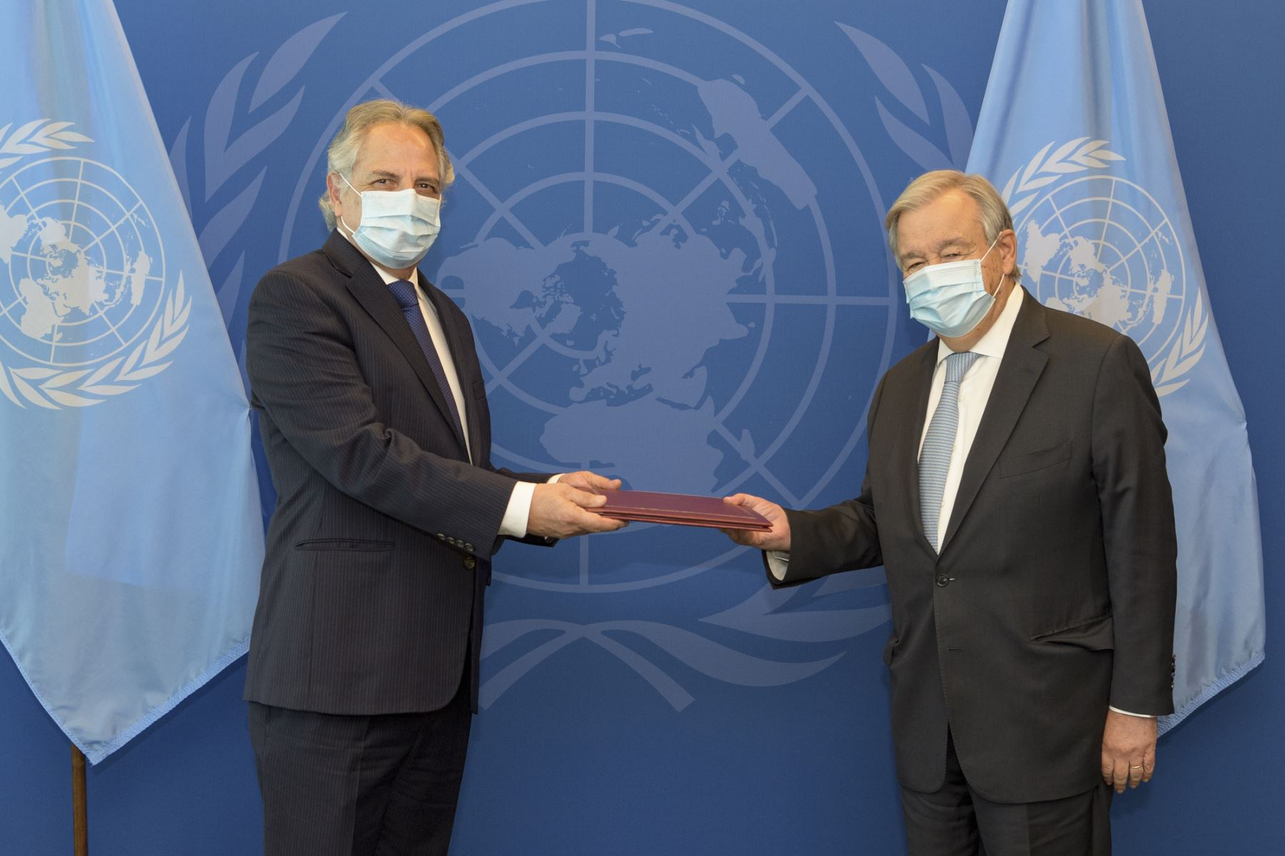 Manuel Rodríguez presentó credenciales como representante permanente ante la ONU