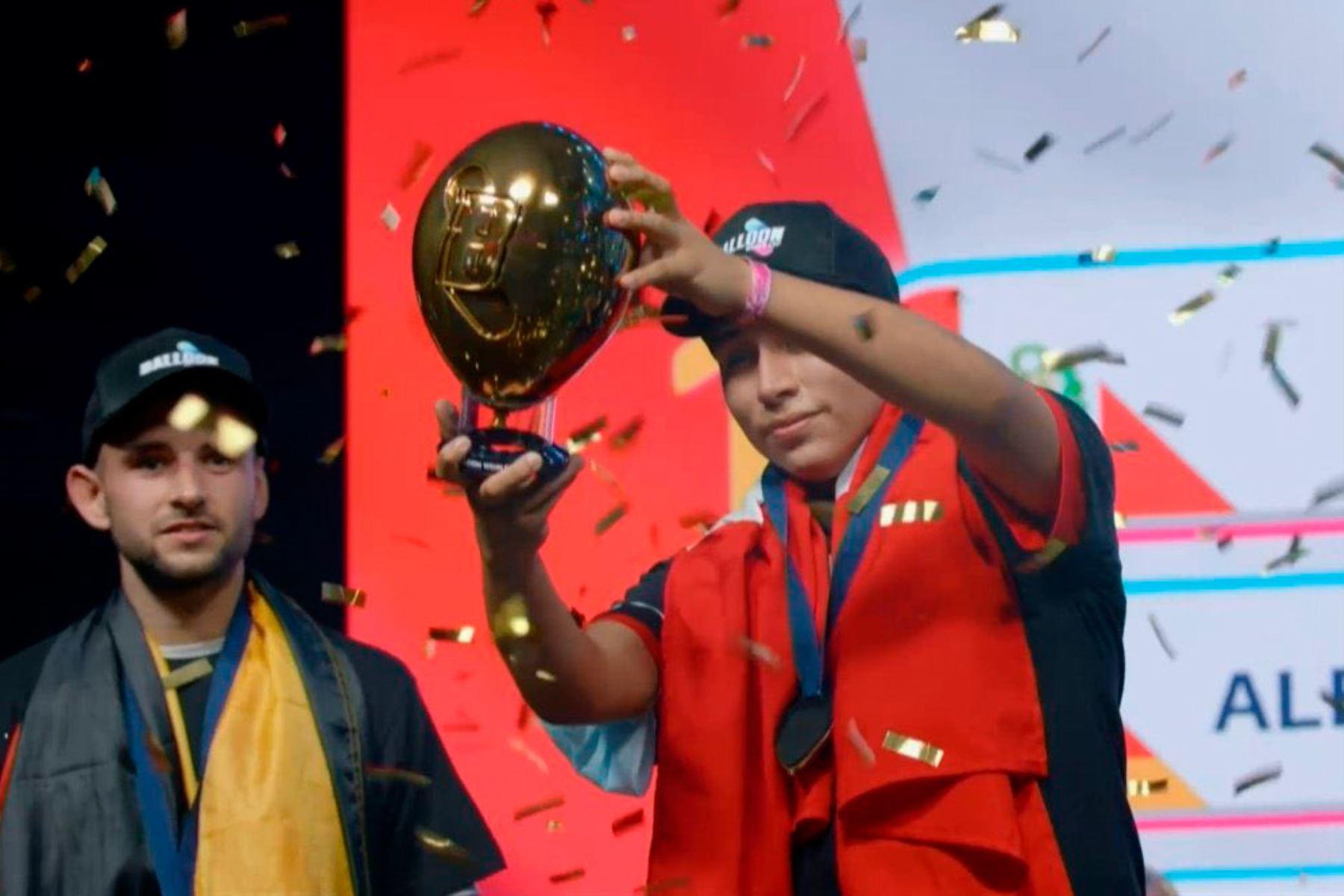 Perú es el primer campeón mundial de globo tras vencer a Alemania
