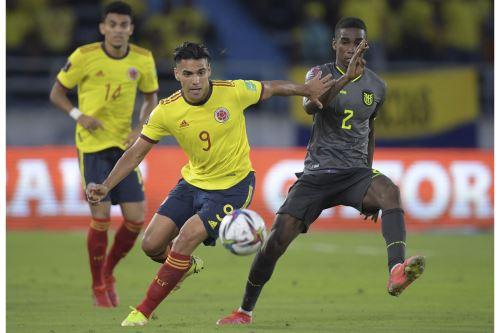 Colombia 0-0 Ecuador por las Eliminatorias Qatar 2022