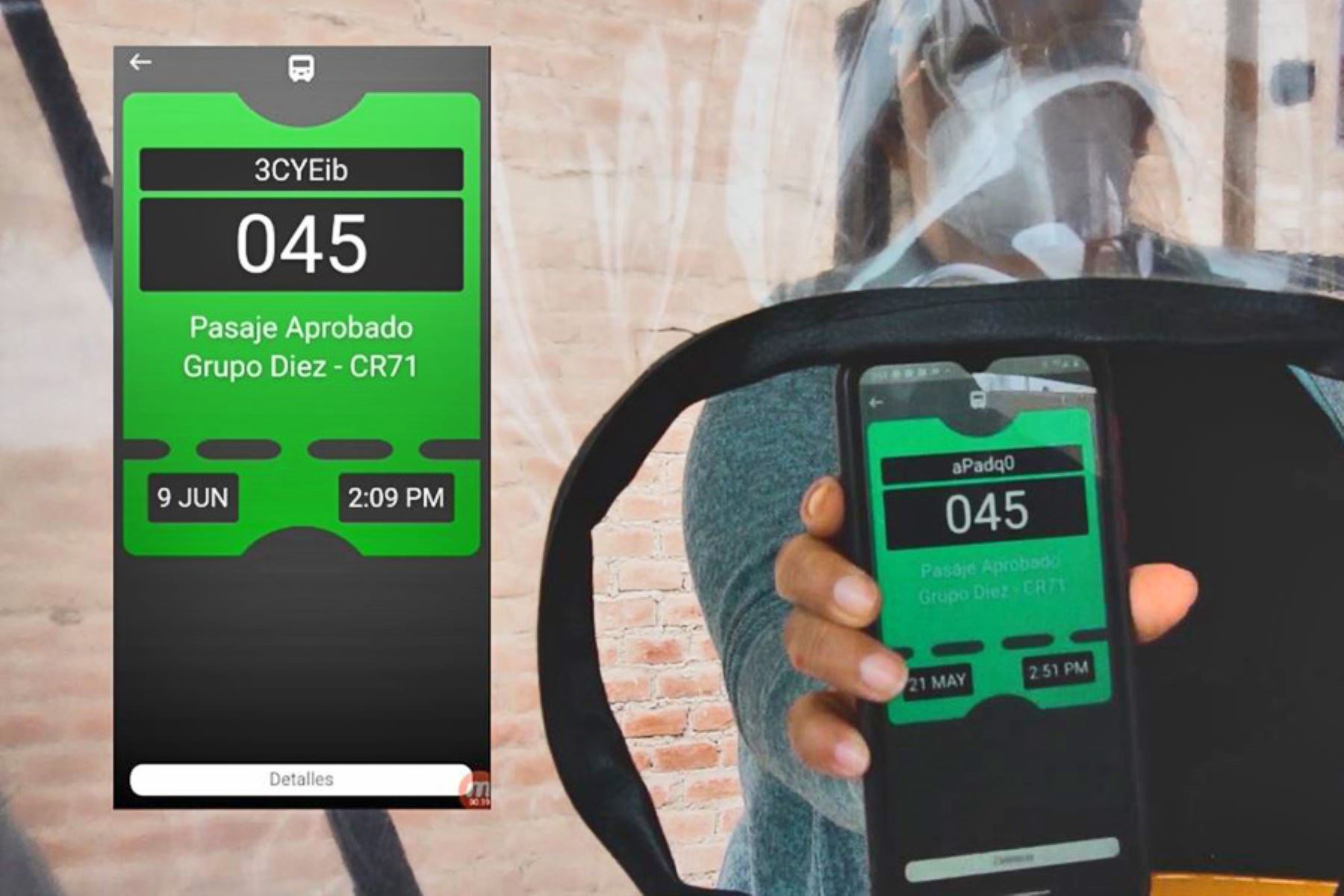 TuBoleto permite el pago de pasaje en el transporte público sin contacto, mediante código QR.
