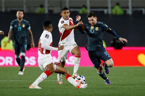 Eliminatorias Qatar 2022: Perú cae 1-0 ante Argentina en el Estadio Monumental de Buenos Aires
