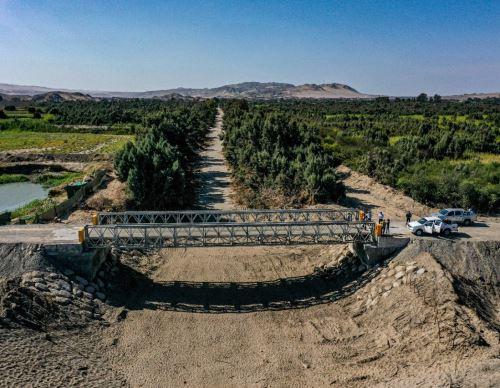 Ica y Huancavelica mejorarán conectividad con la ejecución del proyecto vial carretera Ica-Tambillos, destacó el MTC. ANDINA/Difusión