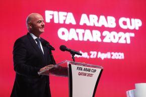 """A finales de mayo, la FIFA realizó """"un estudio de viabilidad"""" solicitado por la Federación Saudí, cercana a Infantino. Foto: AFP"""