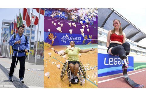 Día Nacional de la Persona con Discapacidad: Freed Villalobos, Pilar Jáuregui y Shirley Meléndez, un ejemplo de lucha e inspiración