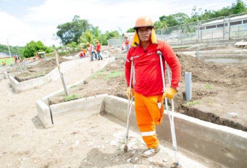 Más de 4,800 personas con discapacidad accedieron a empleos temporales por el programa Trabaja Perú, del Ministerio de Trabajo y Promoción del Empleo
