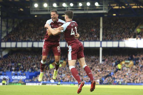 West Ham venció 1-0 al Everton por la Premier League