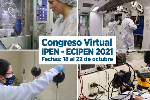 Este evento se da en el marco de la Semana Nacional de la Ciencia, organizada por el Concytec. Foto: IPEN