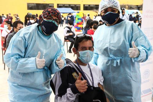 San Marcos: se inicia el VacunaRock para inmunizar a universitarios contra el Covid-19