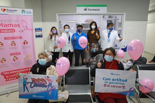 EsSalud brindó más de 130 mil atenciones para prevenir el cáncer durante la pandemia