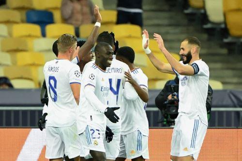 Real Madrid goleó 5-0 al Shakhtar por la Champions League