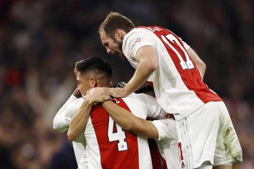 Habrá revancha: Ajax y Borussia se volverán a enfrentar en la siguiente fecha de Liga de Campeones. Foto: Efe.