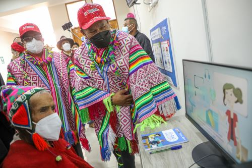 Ministro Juan Silva inauguró primer Centro de Acceso Digital (CAD) en la región Cusco