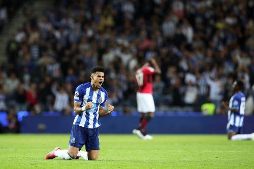 Luis Díaz fue la figura del encuentro entre Porto y A.C. Milán. Foto: EFE