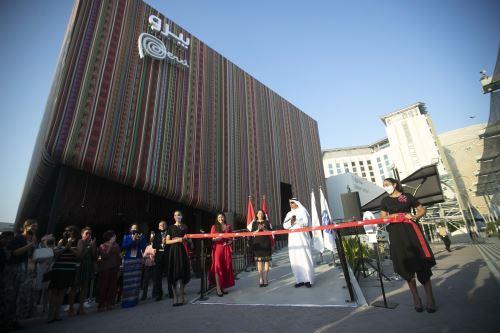 Inauguracion del Pabellón Perú en la Expo Dubai 2020