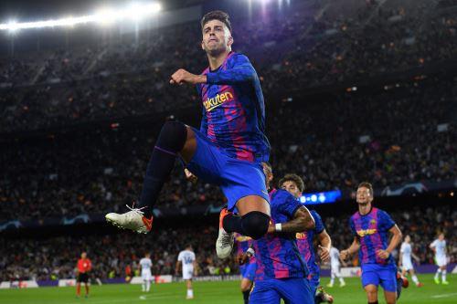 Barcelona derrota 1-0 al Dinamo de Kiev en la Liga de Campeones