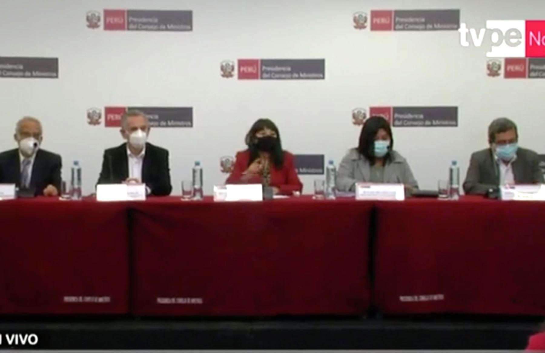 Mirtha Vásquez reafirmó compromiso de diálogo y concertación con el Congreso