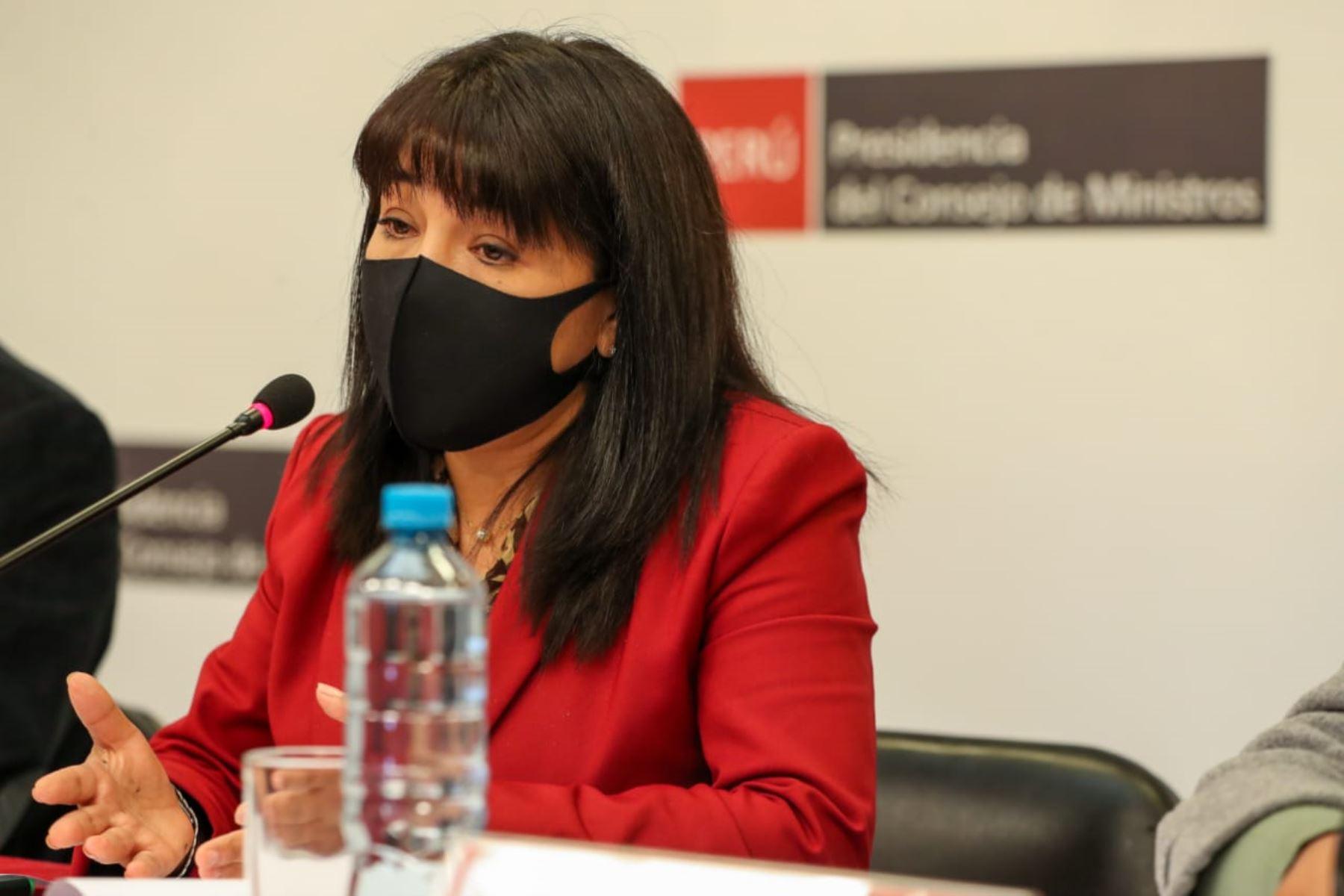 Mirtha Vásquez reafirma compromiso de diálogo y concertación con el Congreso