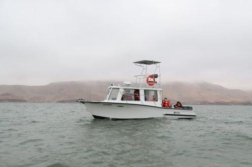 Recursos marinos peruanos estarán bajo vigilancia de modernas embarcaciones patrulleras