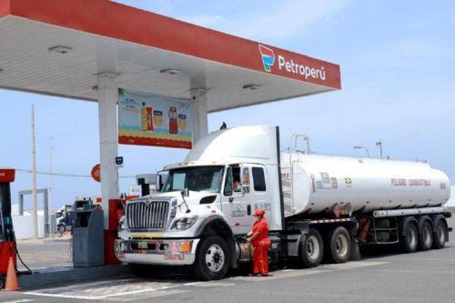 Grifo de la red Petroperú. Foto: cortesía.