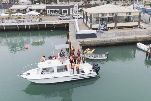 Embarcaciones adquiridas por el Minam permitirán vigilar las áreas naturales protegidas