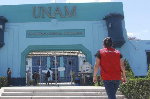 La falta de control en dictado de clases virtuales en la Unam fue informada al rector, señaló la Contraloría General. Foto: ANDINA/difusión.
