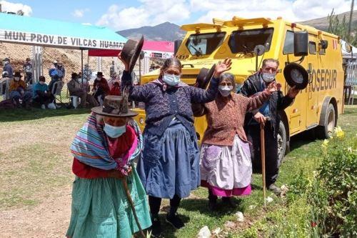 Nuevo punto de pago favorece a los adultos mayores usuarios de Pensión 65 en Ayacucho. Foto: ANDINA/Difusión