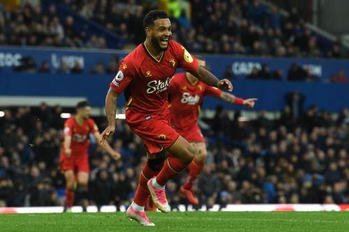 Watford derrota 5-2 al Everton por la Premier League