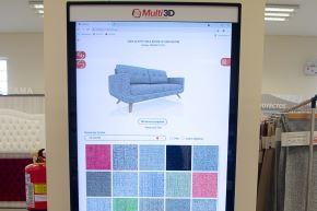 Esta aplicación ha sido íntegramente desarrollada en el país y es la primera de su tipo en Perú y se trata de simulador de realidad aumentada que le permitirá a los compradores elegir el material, diseño, color, textura de diferentes tapices para sofás y muebles.