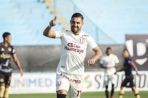 Universitario ganó 2-1 a Cusco F.C. por la Liga 1