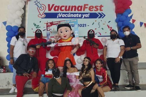 Covid-19: así se desarrolla el Vacuna Fest en regiones