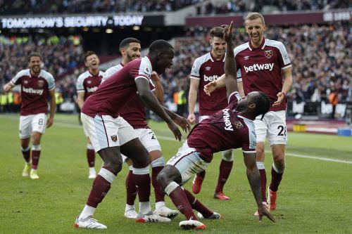 West Ham gana 1-0 al Tottenham por la Premier League