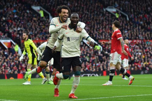 Liverpool golea 5-0 al Manchester United por la Premier League