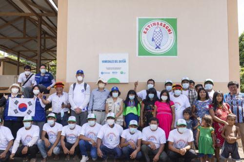 Loreto: entregan plantas de hielo a comunidades nativas dedicadas a la pesca en río Pastaza.