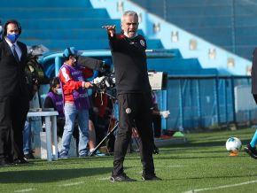 El técnico Gregorio Pérez confía en que Universitario clasificará a la Copa Libertadores