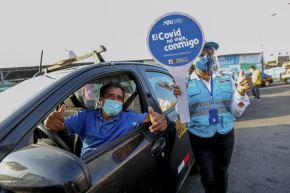 Harán pruebas moleculares gratuitas a taxistas y pasajeros. Foto: ANDINA/Difusión