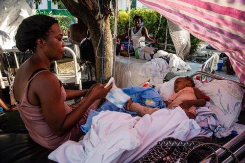 Unicef llamó a la colaboración internacional y la solidaridad con Haití. Foto: Cortesía Unicef.