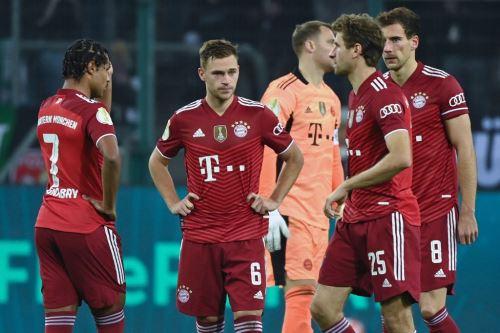 Bayern Múnich fue humillado por el Mönchengladbach