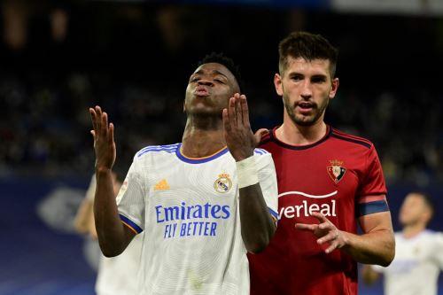 Real Madrid se frenó ante el Osasuna