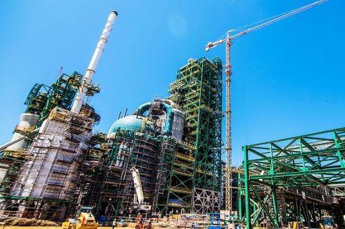 Nueva Refinería Talara. Foto: Cortesía.