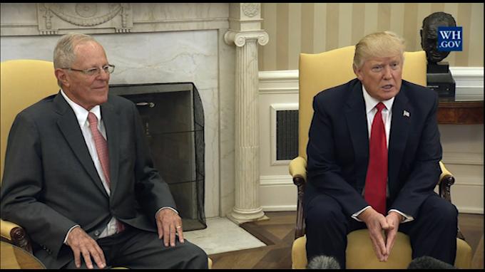 U.S. President: Peru has been fantastic neighbor