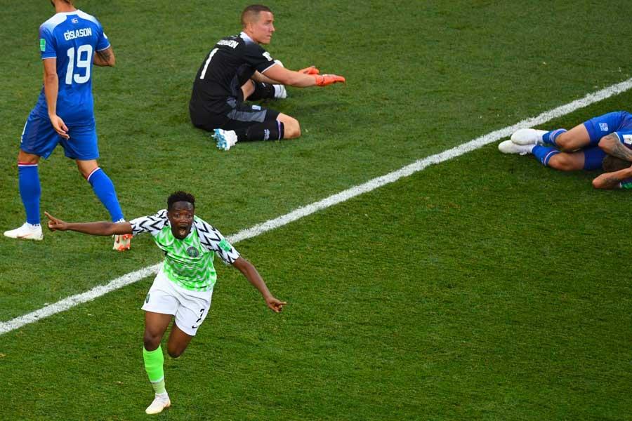 Grupo D: Nigeria ganó 2-0 a Islandia