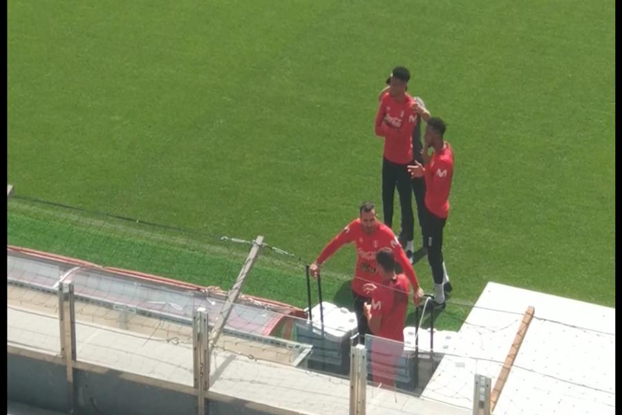 Selección peruana realizó su última práctica en Moscú