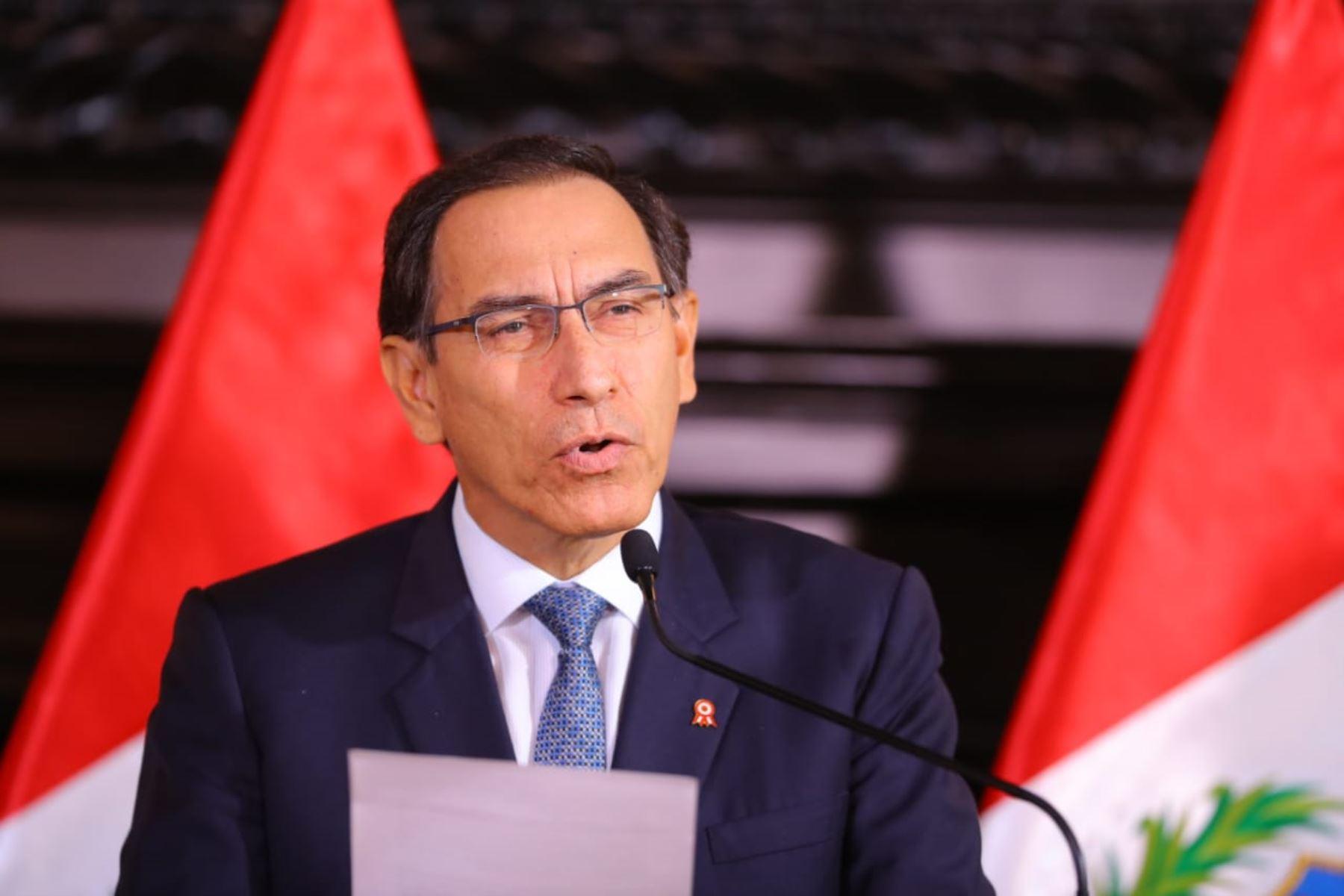 Vizcarra: el Perú aún tiene una gran reserva moral para lograr el desarrollo
