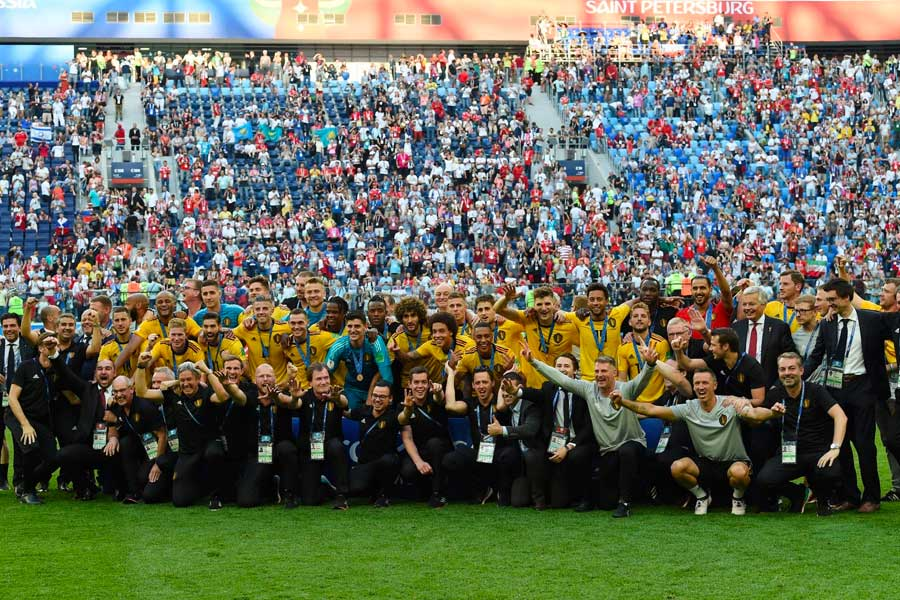 Bélgica venció 2-0 a Inglaterra y ocupa el tercer lugar en el Mundial