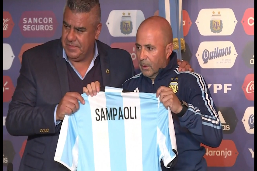Sampaoli dejó de ser el entrenador de la selección argentina