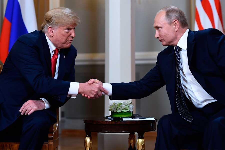 Trump y Putin se comprometen a reiniciar relación bilateral