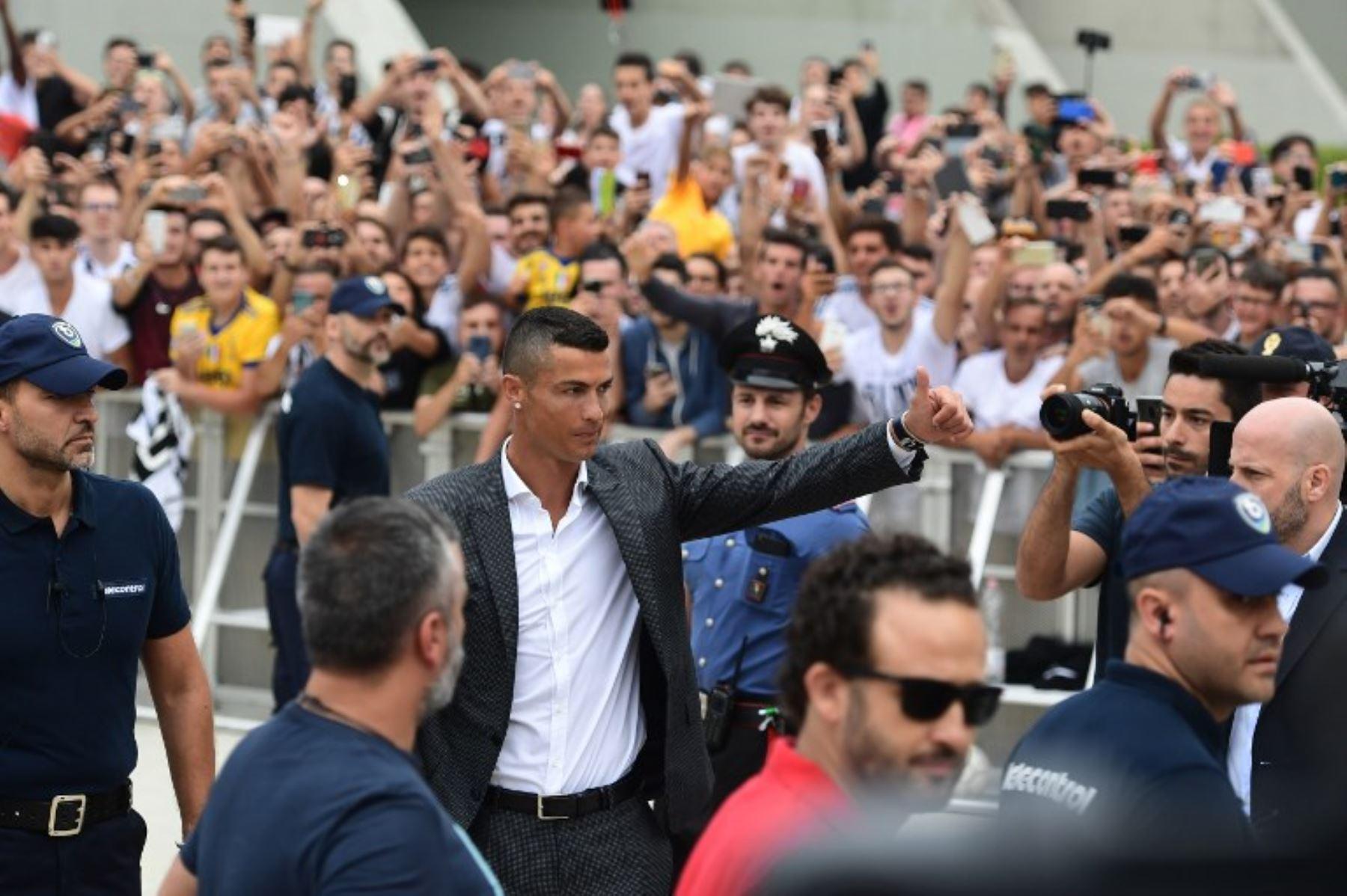 """Ronaldo a la Juve: """"Soy diferente a los demás"""""""