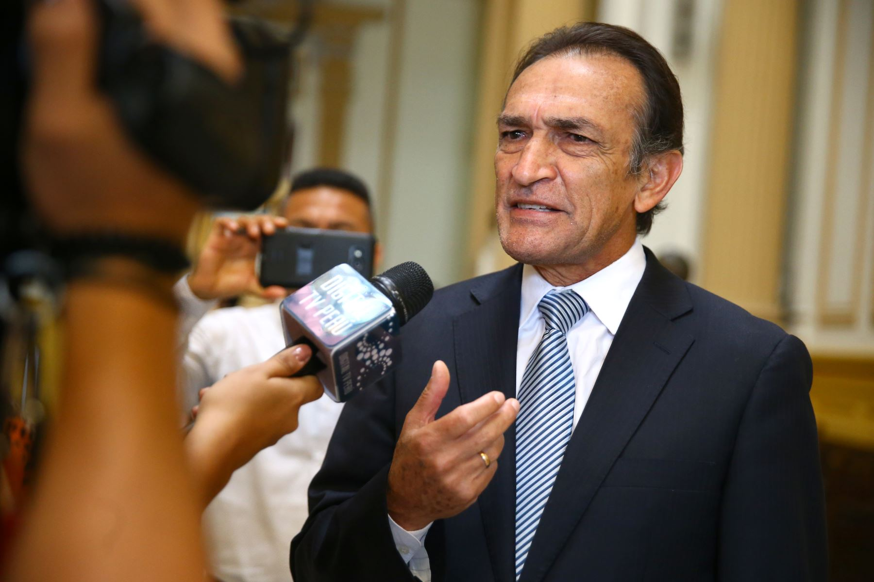 Baltazar Morales del CNM confirma reunión con Héctor Becerril