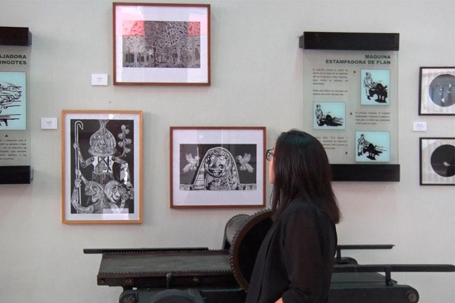 Museo Gráfico de El Peruano exhibe obras de grabado del Perú y del mundo