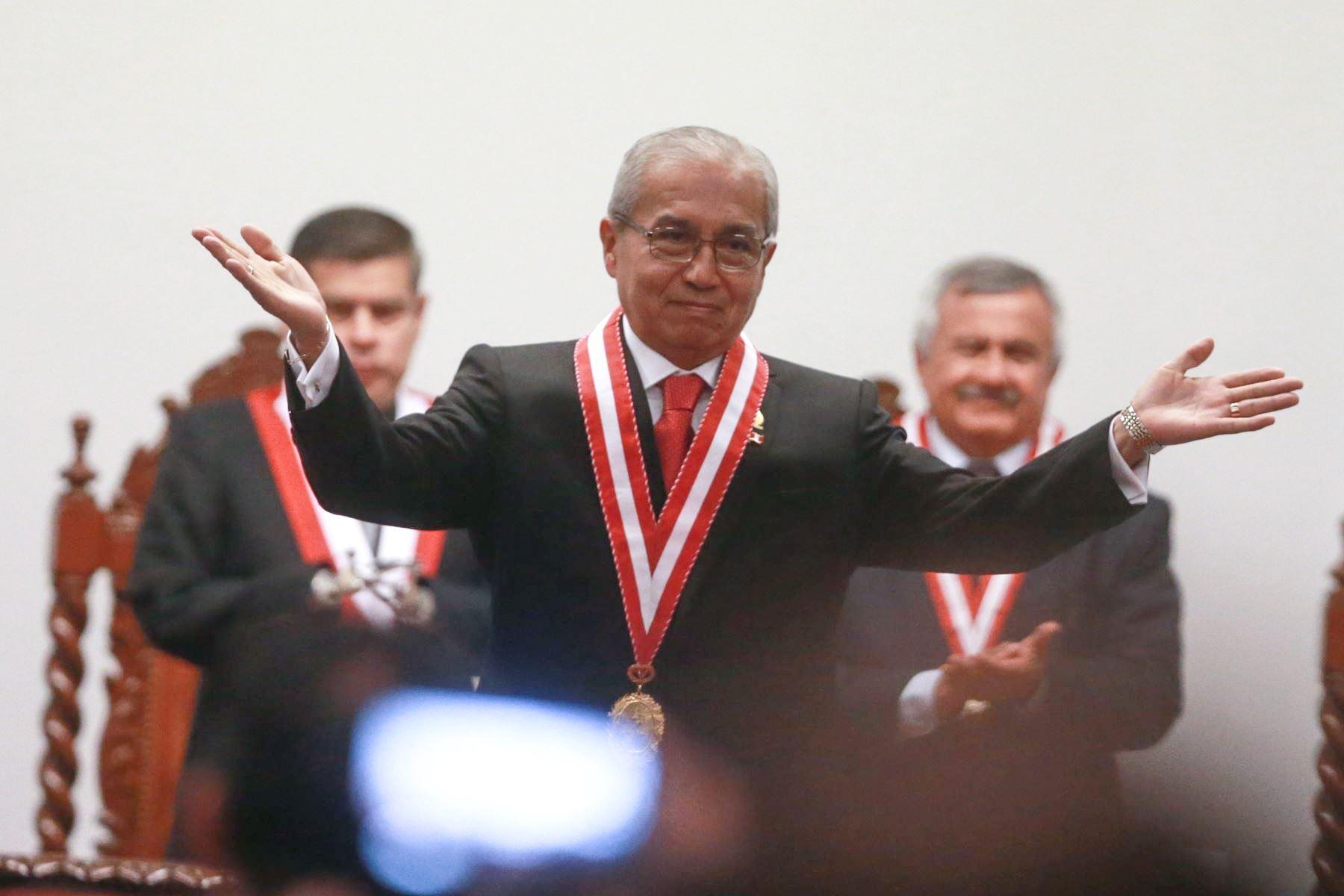 Chávarry agradece a fiscales supremos confianza para asumir Fiscalía de la Nación